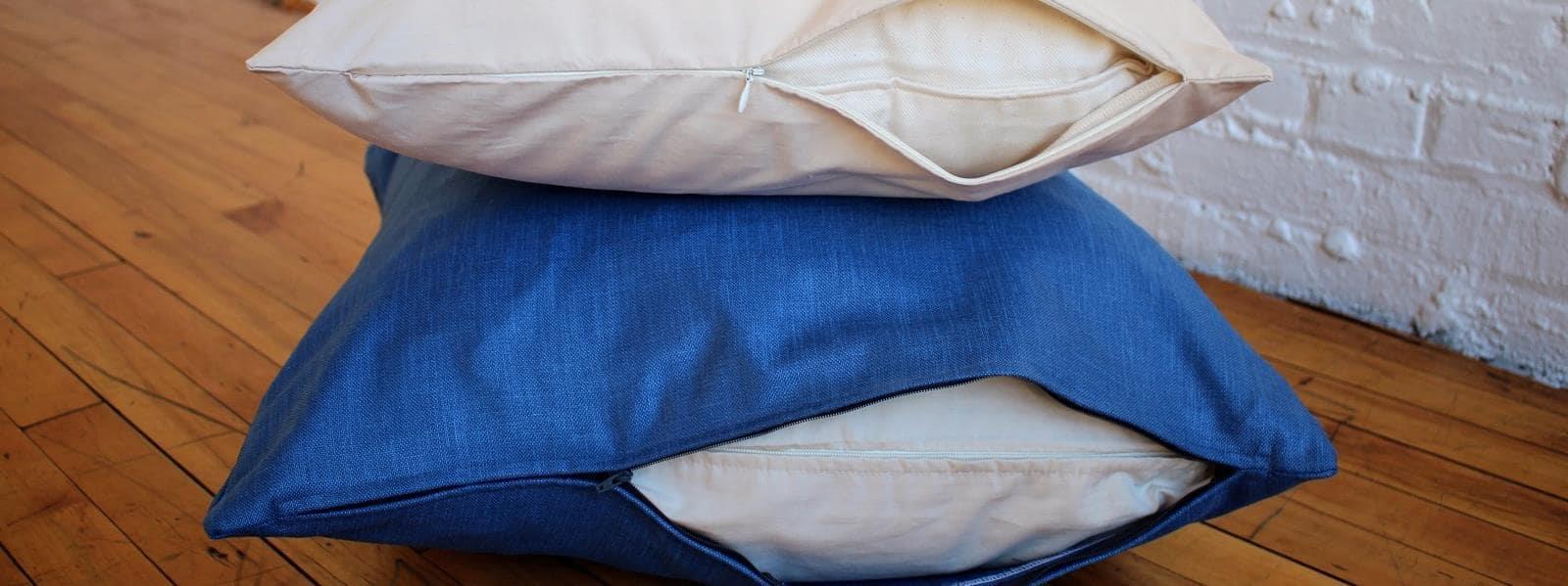Natural & Organic Covers for Pillows, Futons & Mat