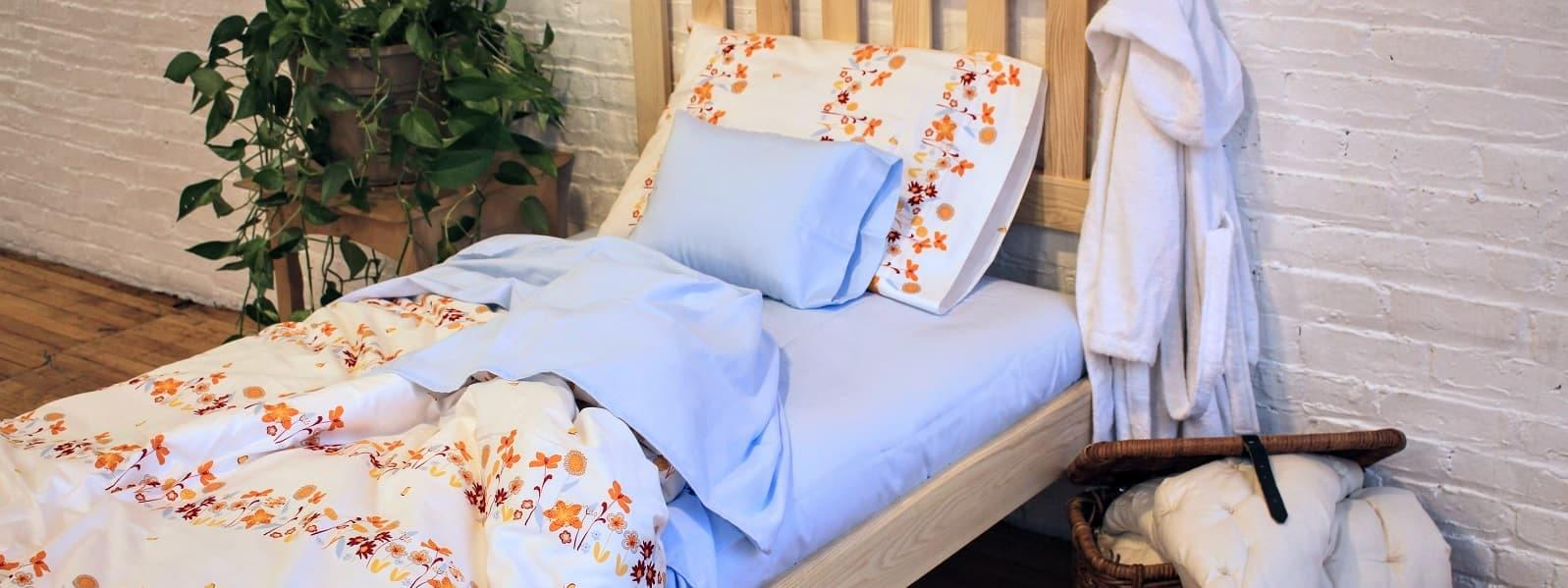 Organic Toppers, Duvets & Handmade Bedding