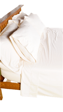 White Lotus Home 100% Cotton Sheets in BONE