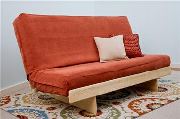 The Bedworks of Maine Ash L Futon Frame