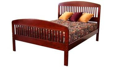 The Bedworks of Maine Ashland Bed Frame