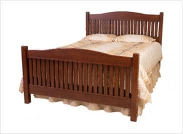 The Bedworks of Maine Camden Bed Frame
