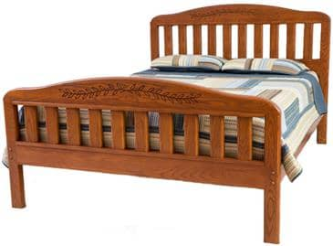 The Bedworks of Maine Lubec Bed Frame