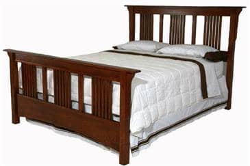 The Bedworks of Maine Lucerne Bed Frame