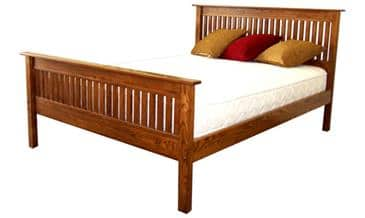 The Bedworks of Maine Pembroke Bed Frame