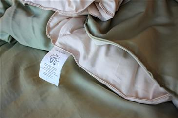 White Lotus Home Duvet Covers in Pure Cotton Twill Fabric (WLH B) w/Sateen on BACK