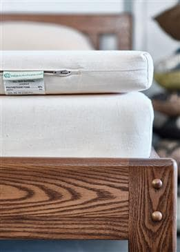 White Lotus Home Evergreen Foam FIRM Mattress + Topper