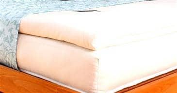White Lotus Home Evergreen Foam Topper