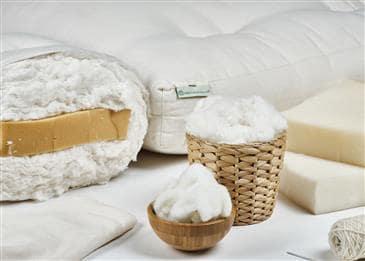 White Lotus Home Green Cotton Foam Core Mattress without Fire Retardant