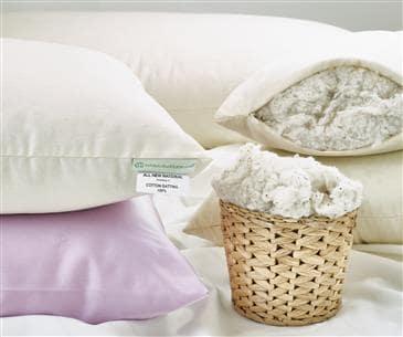 White Lotus Home Green Cotton Sleep Pillows