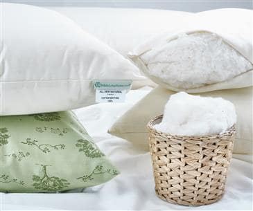 White Lotus Home Organic Cotton Sleep Pillows