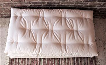 White Lotus Home Organic Cotton Toddler Mattresses