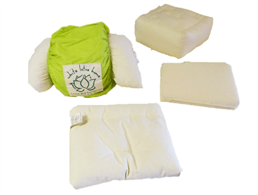 White Lotus Home Bedding Samples