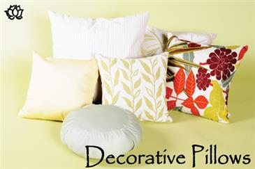 White Lotus Home PILLOW COVERS - WLH A 100% Cotton Twill Fabric