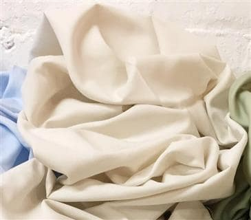 White Lotus Home Pure Cotton Sateen Sheets in Natural