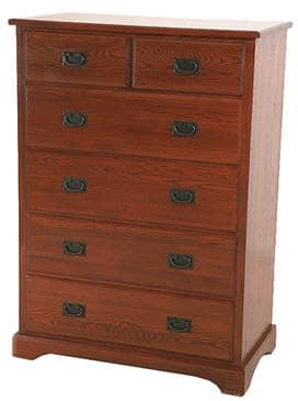 The Bedworks of Maine Six Drawer Chest by The Bedworks of Maine