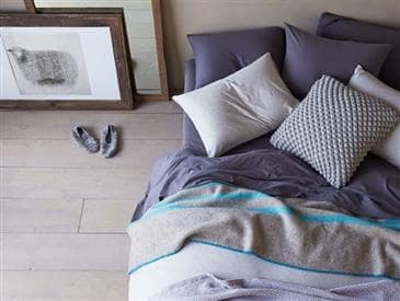 Coyuchi Striped Wool Blanket by Coyuchi