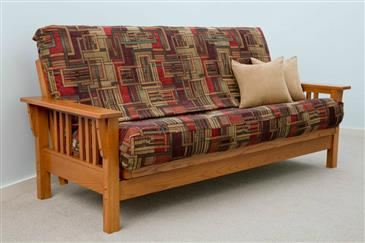 The Bedworks of Maine The Mission Futon Frame
