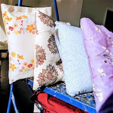 White Lotus Home Travel Pillows