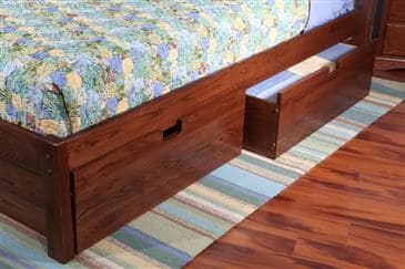 The Bedworks of Maine Underbed Drawer by The Bedworks of Maine