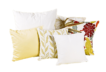 White Lotus Home Wool Decorative Pillows