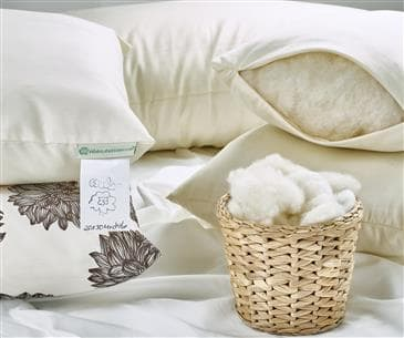 White Lotus Home Wool Sleep Pillows
