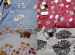 Organic Cotton Sateen Sheets in Various Printed and Solid Fabrics