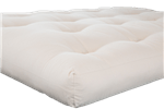 Green Cotton and Latex Futon without Fire Retardant