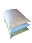 Green Cotton Sleep Pillows