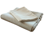 Organic Cotton Sateen Pillow Covers In Natural (WLH D)