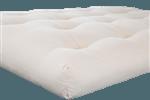 White Lotus Home Organic Cotton and Wool Latex Dreamton Futon