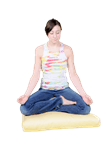 ZABUTON Meditation Pillow Covers only in Cotton Twill Fabric WLH A