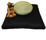 ZABUTON Meditation Covers in Pure Cotton Twill Fabric - WLH B